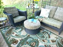 Qvc Patio Furniture Outdoor Mats By Fireside Image Of Plastic Rugs For Patios Colors