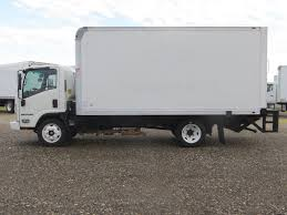 2014 Used Isuzu NPR HD (16ft Box Truck With Lift Gate) At Industrial ...