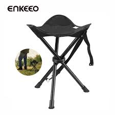 Portable Tripod Stool Folding Chair With Carrying Bag For Outdoor Camping  Hunting Hiking Travel Fish
