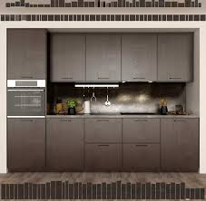 kitchen ikea method ekestad brown 3d model