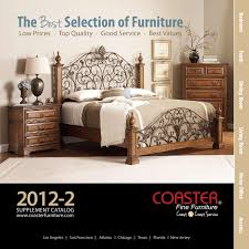 Coaster Curio Cabinet Assembly Instructions by 2012 2 Coaster Supplement Catalog By Coaster Company Of America