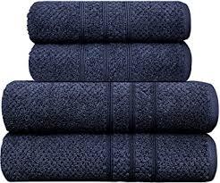 ph pleasant home 4teiliges handtuch set fürs badezimmer 2 badehandtücher 2 handtücher 100 baumwolle 550 g m popcornstruktur weich