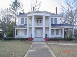 Southern Colonial Homes by 1895 Southern Colonial In Hawkinsville Oldhouses