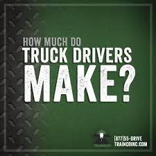 100 How Much A Truck Driver Make Trainco Inc Much Do Truck Drivers Make Facebook