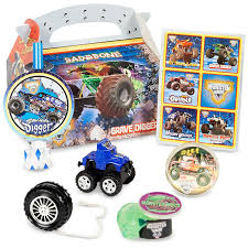 Monster Truck Party Favors | Party Ideas For My Little Guy ... Birthdayexpress Monster Jam Party Supplies Pinata Kit 30off Truck Favors High For 8 Diy Decorations Luxury Braesdcom Amazoncom Printed Cake Decoration Candle Mudslinger Childrens Wall Poster Blaze And The Machines Monsters Amazmonster The Birthday Australia Its Fun 4 Me 5th Happy Lunch Napkins Perfect X Trucks Plates Boys Truckshaped Centerpieces Orientaltradingcom Justins