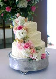 Rustic Buttercream Roses Wedding Cake Rose Bakes Intended For Ideas