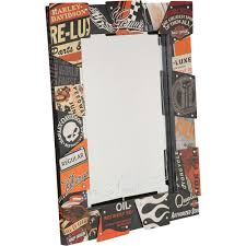 Harley Davidson Vintage Tin Sign Wall Mirror