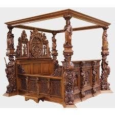 bed medieval bed frame home design ideas