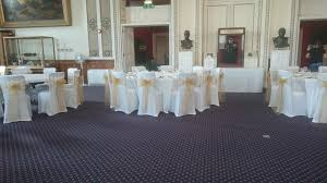 Royal Marines Museum – Chair Covers And Gold Sashes – Lizard ... Chiavari Chairs Vs Chair Covers With Flair Gold Hug Cover Decor Dreams Blackgoldchampagne Satin Chair Covers Tie Back 2019 2018 New Arrival Wedding Decorations Vinatge Bridal Sash Chiffon Ribbon Simple Supplies From Chic_cheap Leatherette Quilted Fanfare Chameleon Jacket Medallion Decoration Package 61 80 People In S40 Chesterfield Stretch Spandex Folding Royal Marines Museum And Sashes Lizard Metallic Banquet Silver Outdoor