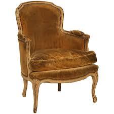 louis xvi chair antique antique louis xv style bergere chair in paint for sale