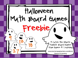 Halloween Math Multiplication Worksheets by Fun Games 4 Learning Halloween Math Freebies