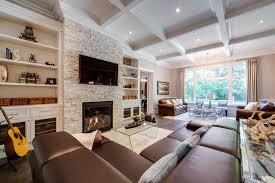 Custom Build Home Traditional Family Room Toronto by