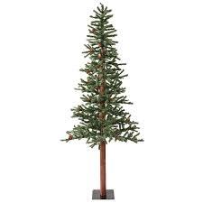 Christmas Trees Prelit by Shop Vickerman 6 Ft Pre Lit Winterberry Slim Artificial Christmas