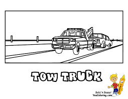 Tow Truck Coloring Pages Tow Truck Coloring Page Ultra Pages Car Transporter Semi Luxury With Big Awesome Tow Trucks Home Monster Mater Lightning Mcqueen Unusual The Birthdays Pinterest Inside Free Realistic New Police Color Bros And Driver For Toddlers