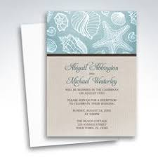 Beach Reception Only Invitations