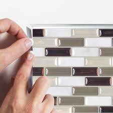 Smart Tiles Peel And Stick by Peel And Stick Backsplash Tiles Murano Stone Smart Tiles