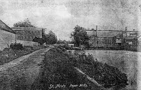 100 Paper Mill House S At Little Paxton 1910 Little Paxton S St Neots