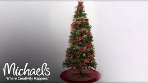 Hobby Lobby Xmas Tree Skirts by Refresh Your Tree With Ribbon U0026 Mesh Holiday Tree Décor