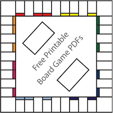 16 Free Printable Board Game Templates