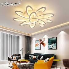 led acryl kronleuchter mit fernbedienung für esszimmer schlafzimmer küche villa foyer restaurant büro dekorative innen licht
