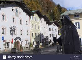 view of the historical nonntal berchtesgaden