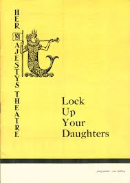 Get Quotations Her Majestys Theatre Lock Up Your Daughters Programme Hy Hazell Bernard Miles
