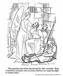 The Apostles Coloring Pages 12