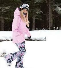 Betty Rides Snowboard Jacket And Pants