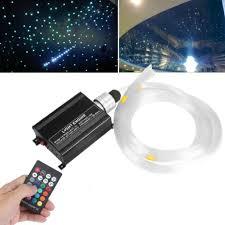 led sternenhimmel 150 lichtfaser glasfaser lichtleitfaser mit fernbedienung beleuchtung 2 meter