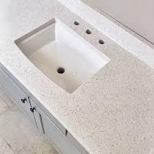 stellar snow quartz countertop home depot bathroom