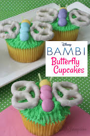 Bambi Butterfly Cupcakes Recipe