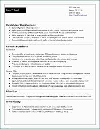 Resume Samples For Internship College Students Accounting Intern Beautiful Good Examples Resumes