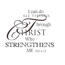 Wall Mural Decals Amazon by Amazon Com Soledi Wall Decal I Can Do All Things Through Christ