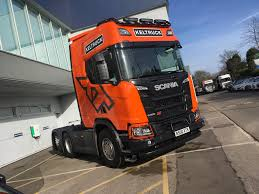 100 Harris Used Truck Parts Charity Auction Of Highspec Scania XT Demonstrator Tractor Unit