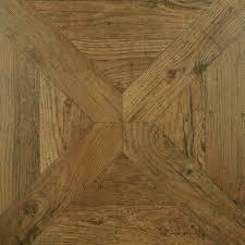 Elegant Hardwood Flooring Made Of Dark Textured Wood Planks Stock