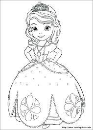 Coloring Pages Princess Disney W5990 Printable
