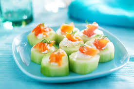 cucumber canapes cold smoked salmon cucumber canapés haida