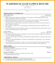 Sample Warehouse Assistant Resume Top Rated Jobs Examples Worker Cover
