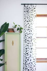 Fabric For Curtains Diy by Spotted Curtains Diy U2013 A Beautiful Mess