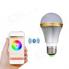 e27 5w colorful light bluetooth smart led l bulb for ios