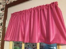 Pink Ruffle Curtain Topper by Amazon Com 52
