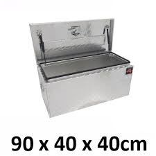 Aluminium Toolbox TOP Opening Ute Truck Storage Trailer Tool Box ...