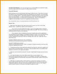 Car Mechanic Education Resume Inspirational Child Care Templates Free Lovely Provider Of