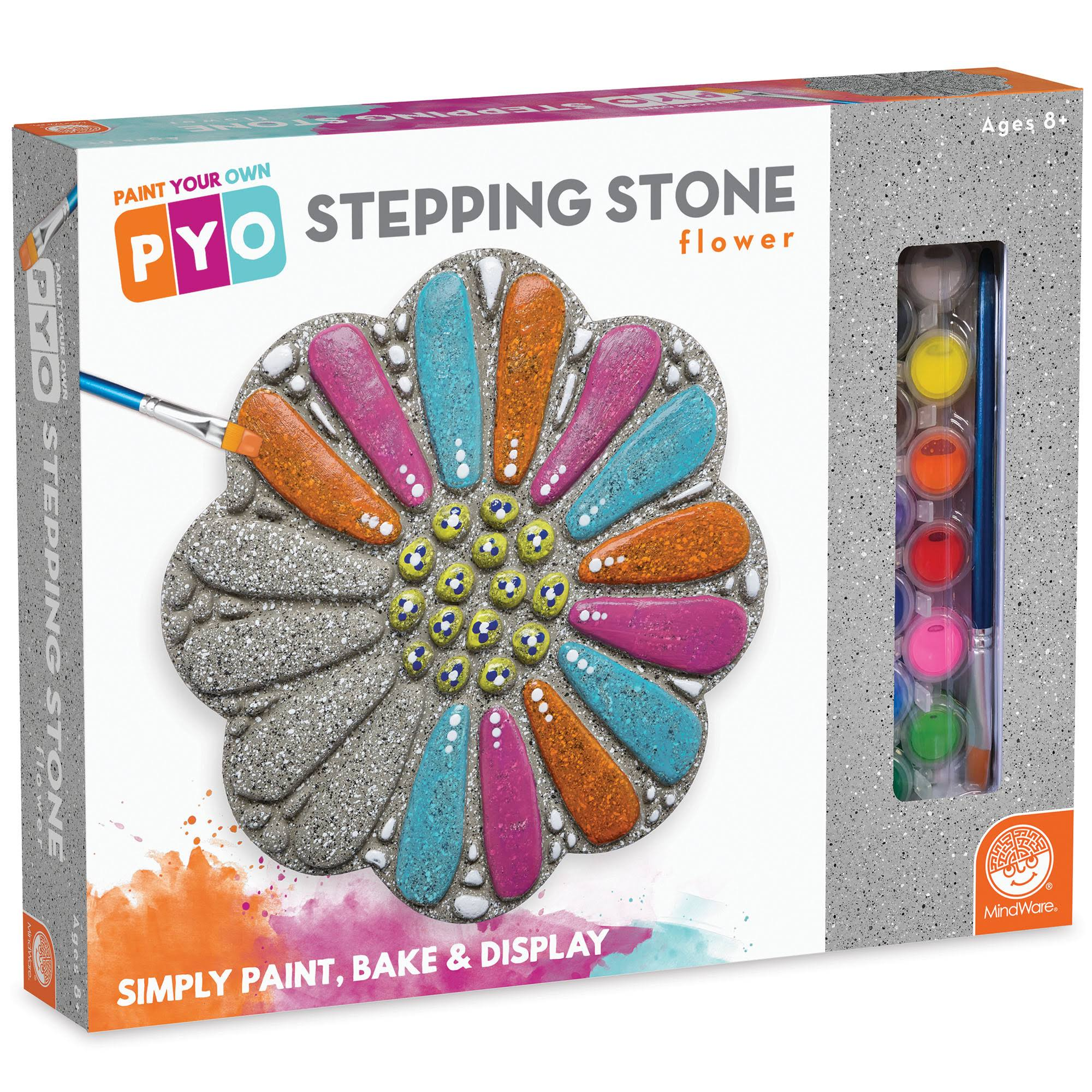 MindWare Paint Your Own Stepping Stone Flower