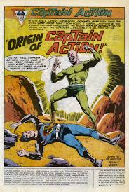 Krellick Was Partner To Professor Clive Arno On The Archeological Dig That Gave Super Powers Of Captain Action While Gained His