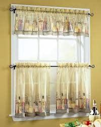 Kitchen Curtain Ideas Pictures by Hickory Wood Cool Mint Windham Door Country Kitchen Curtains Ideas