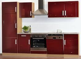 küchenunterschrank marina in rot hochglanz