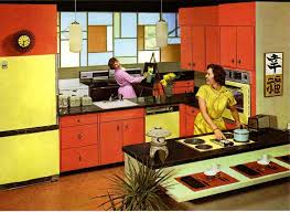 Retro Kitchen Paint Colors From 50s To Early 60s Geneva Republic St Charles And Youngstown Steel Cabinets Interior DesignKitchen
