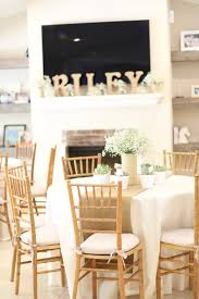 A Rustic Baby Shower