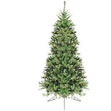 Northlight 65 Pre Lit Canyon Pine Artificial Half Wall Christmas Tree